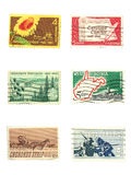 Stamps: US vintage stamps Stock Photos