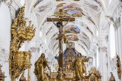 Stams, Austria Imágenes de archivo libres de regalías
