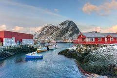 Stamsund, Lofoten Islands, Norway Royalty Free Stock Images