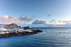 Stamsund, Lofoten Islands, Norway Stock Photography