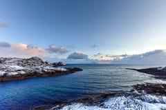 Stamsund, Lofoten Islands, Norway Royalty Free Stock Photo