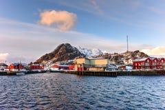 Stamsund, Lofoten Islands, Norway Stock Image