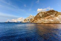 Stamsund, Lofoten Islands, Norway Stock Images