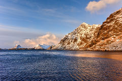 Stamsund, Lofoten Islands, Norway Royalty Free Stock Photography