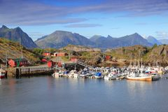 Stamsund, Norway Royalty Free Stock Image