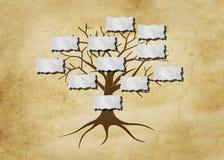 Stamträdillustration Royaltyfri Foto