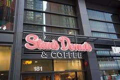 Stan's Donuts και καφές, στο κέντρο της πόλης, Σικάγο, IL στοκ εικόνες