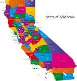 Stan Kalifornia royalty ilustracja