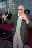 Stan Lee. At the induction ceremony for  into the Hollywood Walk of Fame, Hollywood, CA. 01-04-11 Royalty Free Stock Photos