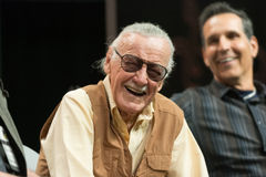 Stan Lee American comic book writer Royalty Free Stock Photography