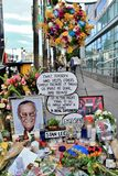 Stan Lee`s memorial on star royalty free stock photo