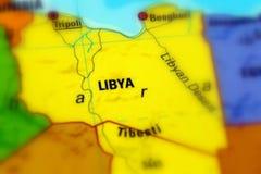 Stan Libia obraz stock