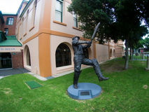Stan McCabe's Statue at SCG Royalty Free Stock Photography