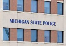 Stan Michigan komendy głowna policji Fotografia Stock