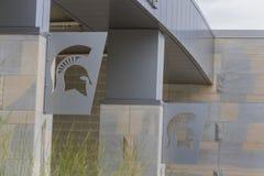 Stan Michigan uniwersyteta spartan stadium obrazy royalty free