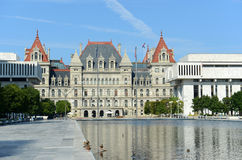 Stan Nowy Jork Capitol, Albany, NY, usa Obraz Royalty Free