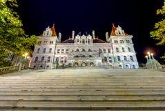 Stan Nowy Jork Capitol budynek zdjęcie stock