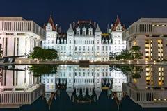 Stan Nowy Jork Capitol budynek Zdjęcie Royalty Free