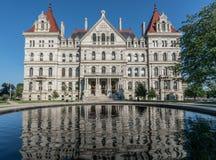 Stan Nowy Jork Capitol budynek Zdjęcia Stock