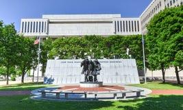 Stan Nowy Jork Spadać strażacy Pamiątkowi Obraz Stock