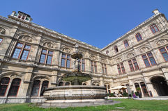 Stan opera, Vienna Zdjęcia Royalty Free