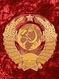 Stan radziecki Emblemat Obrazy Stock