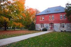 Stan szkoły wyższa kampus Zdjęcie Royalty Free