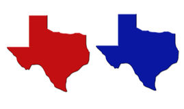 stan Teksas Zdjęcie Royalty Free