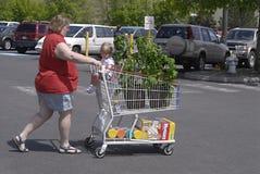 STAN WASHINGTON _USA_AMERICAN konsumenci Zdjęcia Royalty Free