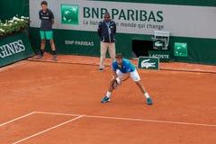 Stan Wawrinka at Roland Garros Stock Photos