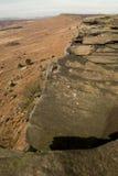 Stanage边缘,高峰区,德贝郡 免版税图库摄影