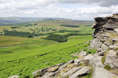 Stanage Edge Royalty Free Stock Photography