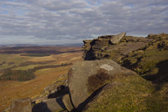 Stanage Edge Royalty Free Stock Images