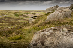 Stanage Edge, Peak District Royalty Free Stock Images