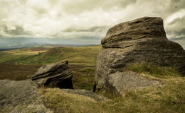 Stanage Edge, Peak District Royalty Free Stock Photography
