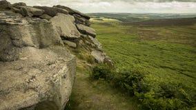 Stanage Edge, Peak District Royalty Free Stock Image