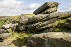 Stanage Edge Stock Photo