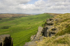 Stanage Edge Stock Image
