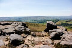 Free Stanage Edge View In A Sunny Spring Day Stock Images - 183646774
