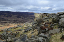 Stanage-Rand, Hathersage Stockbild
