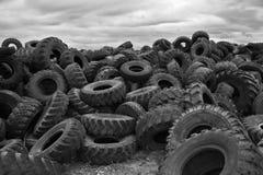 Stanca il pile-up fotografia stock libera da diritti