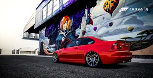 stanced bimmer Royalty Free Stock Photography