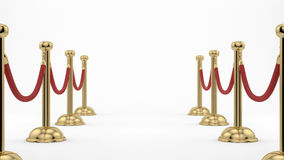 Stanchions Royalty Free Stock Image