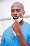 Stanco dopo ambulatorio lungo Fotografia Stock Libera da Diritti