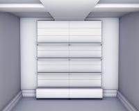 stand 3d pour l'objet exposé Illustration de Vecteur
