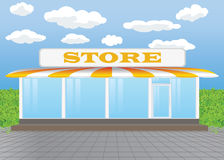 Stand Alone Store Royalty Free Stock Images