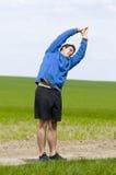 Stand andt stretch_vertical Lizenzfreie Stockfotos