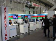 Stand of Azerbaijan Royalty Free Stock Photos