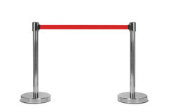 Stand barrier Royalty Free Stock Image