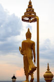 Stand buddha statue Royalty Free Stock Images